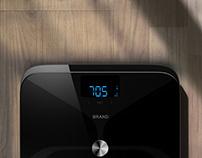 Body fat scale design