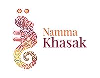 Namma Khasak logo design