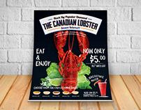 Restaurant Food Menu Flyer Design.