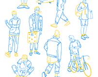BOYS BOYS BOYS - Sérigraphie