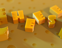 """Typography """"Cheese"""""""