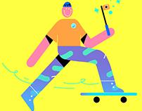 Smiley Skaters