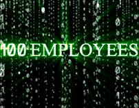 100 employees in IT company!