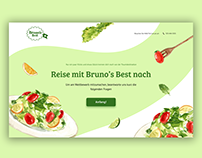"""Landing Page for """"Bruno's Best"""""""