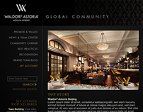 Waldorf Astoria & Conrad Hotels Communities