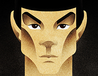 Spock. Star Trek