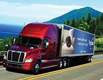 England Furniture Truck Skin Design