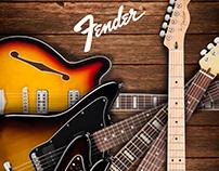 CONCEPTO: Portada Guitarras Fender