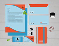 Personal Brand Identity Mockup Design