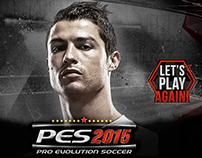 Lanzamiento PES 2015