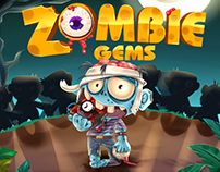 UI game Zombie Gems