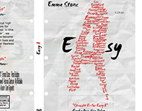 Typographic Dvd Cover