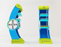Desarrollo de exhibidor para bayer