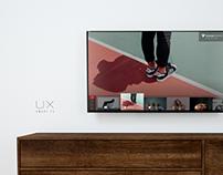 Smart TV UX design
