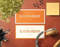Landscape DL Flyer Mockup