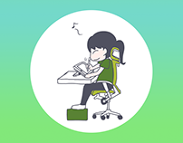 Working Chair - Blog illustration
