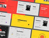 Influencers Business Plan Presentation