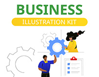 Business & Workflow Illustrations