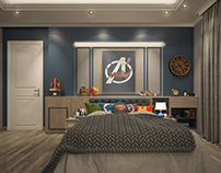 Avengers boy bedroom