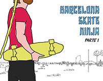 Barcelona Skate Ninja Parte 1