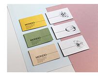 MONDO FLORES - corporate identity