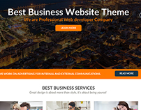 One Page Free Psd Design Theme