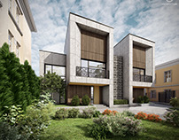 """""""Twin House"""" by 33bY.pro"""