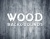 15 Wood Backgrounds - $4