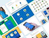 Drip Iv Mobile Ui and Branding