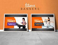 Multipurpose Free Fitness Ad Banner_PSD