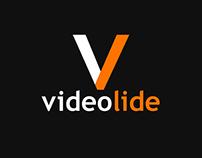 Videolide logo design