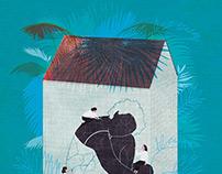 Editorial illustration for Pèlerin