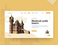 Casteler UI design concept