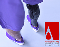 AIRY (Customized 3D Printed prosthetic leg cover)