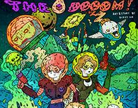 「毀滅!」封面插畫, 設計 | The Dooom!