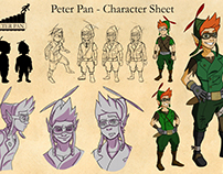 Peter Pan Redesigns - Intermediate Digital Fall 2016