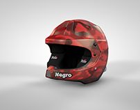 Helmet design Zeballos Rally Team