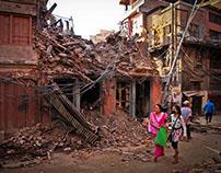 Kathmandu's Second Earthquake, 12th May 2015, Nepal