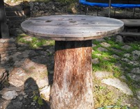 Cable Spool Table