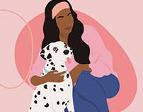 Hounds & Hers Illustrations