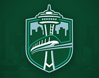 Seattle Metros - NHL Franchise Branding and Design