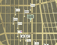 SOHO FLAGSHIPS (Map Signage)