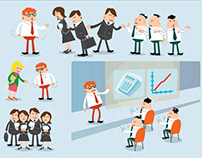 Better Business - Character Illustrations