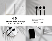 Free 4 Shadow Overlay Collection for Photo Effect