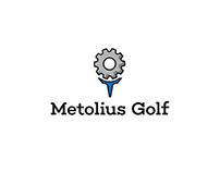 Metolius Golf | Logo Design