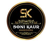 Soni Kaur Makeovers Logo Design