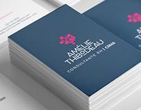 Identité visuelle pour Amélie Thibodeau