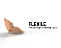 FLEXILE- A ground seating support.
