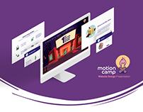 Motion Camp - Website Design