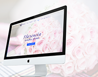 Landing Page for Florencia-Delivery flowers